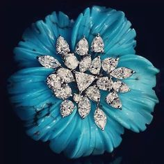 LEVIEV Turquoise and Diamond Ring