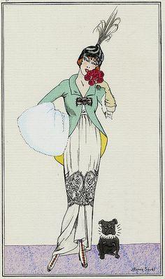 J Rene Souef 1913 Robe de cachmire