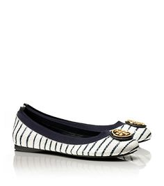 tory burch ballet stripoes - Google Search