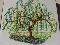 embroidered willow