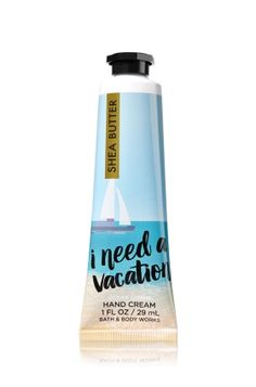 Need a Vacay Hand Cream - Find your getaway with a refreshing spritzer of mango nectar, jasmine petals & coral musk