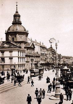 La calle de Alcalá en 1900