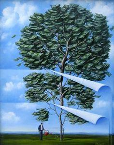Польский художник Рафаль Олбински (Rafal Olbinski)