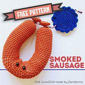 Ravelry: Smoked Sausage pattern by Dennis van den Brink