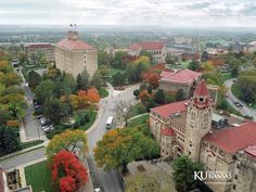 University of Kansas campus, Lawrence, Kansas University Of Kansas, Kansas City, Kansas Usa, Places To Travel, Places To See, Travel Destinations, Lawrence Kansas, College Campus, College Life