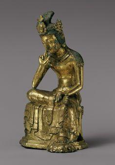 Pensive Bodhisattva [Korea] (2003.222) | Heilbrunn Timeline of Art History | The Metropolitan Museum of Art