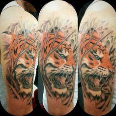 A tiger I done..