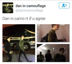 I only see Phil and a few other people I don't see Dan what is everyone talking about?