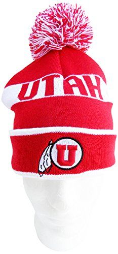 buy online cadff 0e0e3 Compare prices on Utah Utes Pom Hats from top online fan gear retailers.  Save money when buying team logo winter hats.