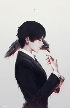 Chrollo Lucifer from Hunter x Hunter || Artwork by RainNoir