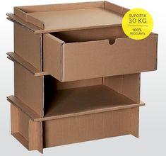 Conheça os móveis feitos de papelão da Cartone Design - Por que não pensei nisso?Por que não pensei nisso?