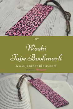 As an avid reader of books, I recently made my own DIY Washi Tape Bookmark, inexpensively and easily. Sharing how to make this craft here.
