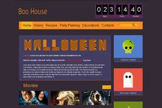 Free Halloween HTML5 Theme