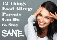 12 Things Food Allergy Parents Can Do to Stay Sane // Love the one about keeping an updated (unfilled) prescription in your wallet for emergencies. Tree Nut Allergy, Egg Allergy, Milk Allergy, Allergy Asthma, Peanut Allergy, Kids Allergies, Seasonal Allergies, Practical Parenting, Allergy Free Recipes