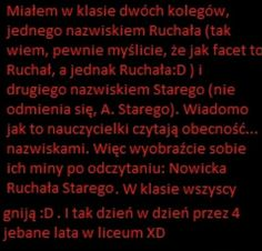 Wtf Funny, Funny Memes, Hilarious, Jokes, Polish Memes, Life Humor, Sentences, Haha, Funny Pictures