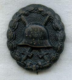 World War I German Army Black Wound Badge