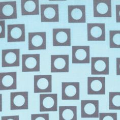 SALE Aneela Hoey,  Sherbet Pips, Play Dot Blue Grey Fabric - By the Yard. $5.99, via Etsy.