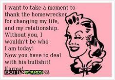 Thank my home wrecker