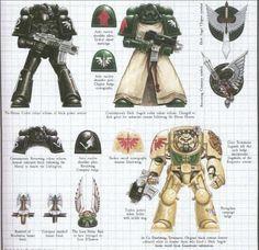Warhammer Dark Angels, Dark Angels 40k, Warhammer 40k Figures, Warhammer 40000, The Black Library, 40k Armies, Armor Concept, Mini Paintings, Space Marine