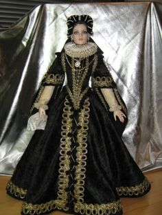 About Cami: Historic Century Spanish Costume Voor ons koor? Vintage Outfits, Vintage Fashion, Tudor, Elizabethan Gown, Spanish Costume, Renaissance Festival Costumes, Barbie Wardrobe, Landsknecht, Glamour Dolls