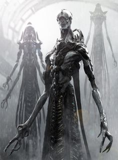 sifi horror art | horror concept art monster sci-fi science fiction alien horror movie