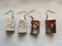 Diy-Ohrringe | kinderinfoblog Blog, Fur, Drop Earrings, Jewelry, Diy, Basteln, Children, Jewellery Making, Jewelery