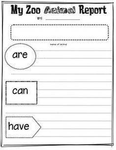 Great idea to begin informational text writing! (maybe after our field trip to the circus)