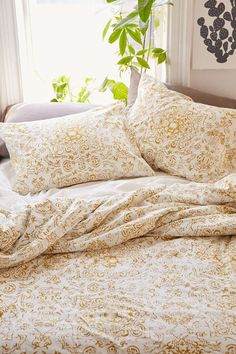 Magical Thinking Hatay Fine Line Duvet Cover - Urban Outfitters
