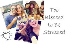 Too Blessed to Be Stressed Stress can consume our lives. It can make us forget about the joy that lies throughout our day.  Even the biggest blessings can get overlooked, because stress consumes our thoughts, actions, and outlook on life.  The Bible says not to be stressed or anxious about anything, but to pray and give t...  Read More at http://www.chelseacrockett.com/wp/lifestyle/too-blessed-to-be-stressed/.  Tags: #Blessings, #Challenge, #God, #Jesus, #Stress, #Than