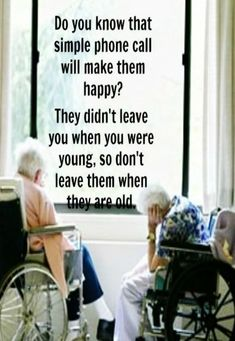 Growing Old, this so often happens...
