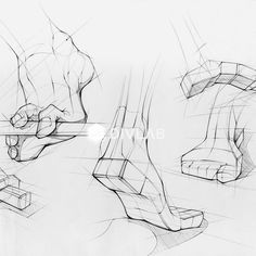sketches and drawings Feet Drawing, Human Drawing, Life Drawing, Drawing Tips, Figure Drawing, Drawing Sketches, Drawings, Drawing Drawing, Anatomy Illustration
