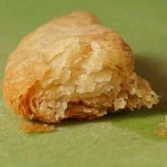 homemade puff pastry- (using frozen butter) 150 grams unsalted butter (5 1/2 ounces or 11 tablespoons) 150 grams all purpose flour (5 1/2 ounces or 1 cup) 75 grams water (a little less than 3 ounces or approximately 1/3 cup) 3/8 teaspoon salt