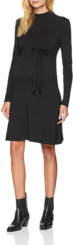 Bin nicht schwanger trotzdem bestellt  Bekleidung, Damen, Umstandskleidung, Kleider Maternity, Dresses With Sleeves, Long Sleeve, Black, Fashion, Dresses For Women, Summer, Clothing, Women's