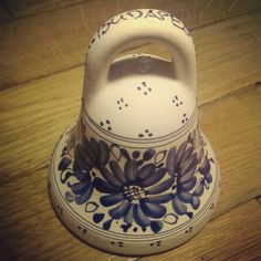 My #ceramic #bell from #Hundary #handbell #bellcollection #ceramicbells #ceramicbell #колокольчик #коллекция