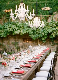 long table+