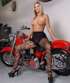 Poster davidson harley girl nude on