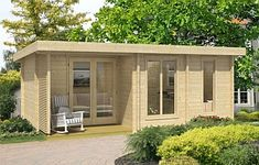 Orkney4 log cabin, garden office, Log Cabins for sale, Free Delivery