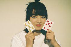 "yourghostcat: ""nana komatsu for ginza magazine - June 2019 "" Komatsu Nana, Japanese Models, Card Games, Interview, Photoshoot, Poses, Actresses, Celebrities, People"