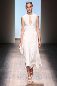 Salvatore Ferragamo Spring 2015 Ready-to-Wear Fashion Show - Julia Bergshoeff