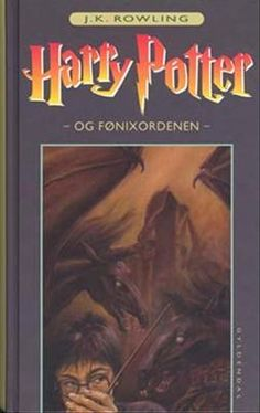Harry Potter and the Order of the Phoenix. Favorit cover (danish)