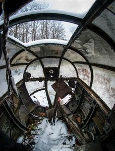 In pictures: World War II fighter aircraft rot in abandoned plane graveyard - Telegraph