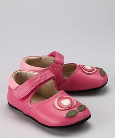 Take a look at this Pink Jenny Mary Jane by See Kai Run on #zulily today!