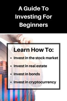 A Beginners Guide To Investing In The Stock Market | The Money Venture