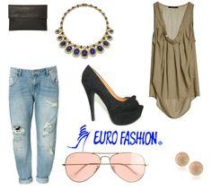 #Chic #Rockgirl #Fashion #Tacones #Eurofashion
