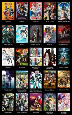 Anime series, text; Anime