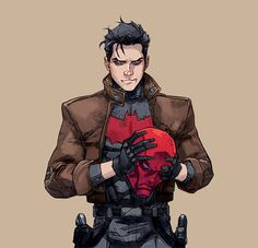 red hood and the outlaws Character Inspiration, Character Art, Character Design, Dc Comics Art, Marvel Dc Comics, Nightwing, Batgirl, Red Hood Jason Todd, Jason Jason