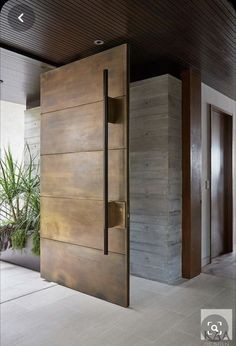 Get inspired with our beautiful front door designs. From modern to traditional, there are nearly limitless front door moulding ideas to get your plans started. Home Door Design, Front Door Design, Front Door Decor, House Front Door, House Doors, Internal Wooden Doors, Wood Doors, Rustic Doors, Exterior Front Doors
