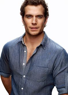 Henry Cavill makes the perfect Superman, he has beautiful bone structure.