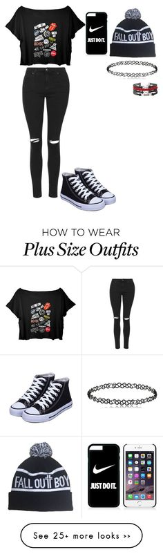 """""""Untitled #416"""" by meowliv on Polyvore featuring Topshop and NIKE"""