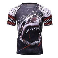 Popular Brand Mens Rashguard Mma Short Muay Thai Sport Suit Quick Drying Elastic Compression Tights Fighting Training Kick Boxing Jersey Man To Produce An Effect Toward Clear Vision Sports & Entertainment